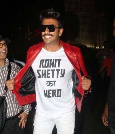 """Ranveer Singh is nowadays """"Rohit Shetty Ka Hero"""""""