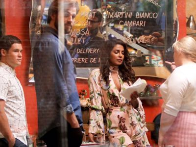Photos: Priyanka Chopra With Liam Hemsworth Shooting For Her Next