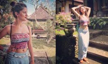 Picture Talk: Rubina Dilaik is enjoying herself in Bali