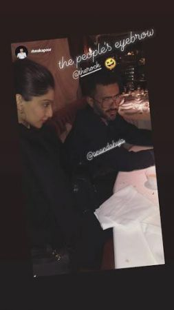 Sonam and Anand reign in black!