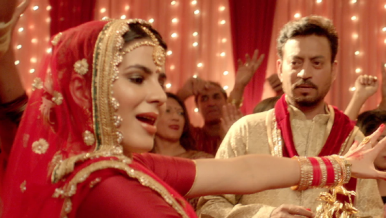 Blackmail song Patola: Irrfan Khan's looks very shy groom