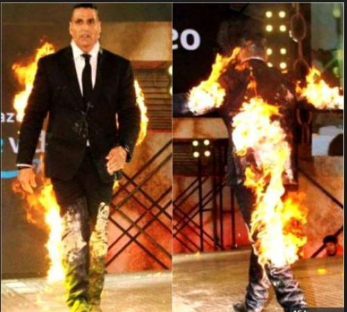 Caring wife Twinkle Khanna Threaten Actor Akshay Kumar on this incident….know detail inside