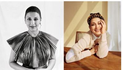 Sonali Bendre flaunts her Cancer surgery Scar...pic inside