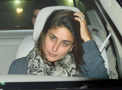 Kareena Kapoor Khan arrived at Sridevi's residence