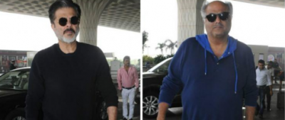 Boney Kapoor and Anil Kapoor moves to Haridwar for conducting prayers for Sridevi
