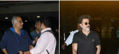 Boney and Anil Kapoor clicked after immersing Sridevi's ashes in Haridwar