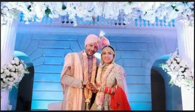 Neeti Mohan and Nihaar Pandya First look post-wedding is out….check pics inside