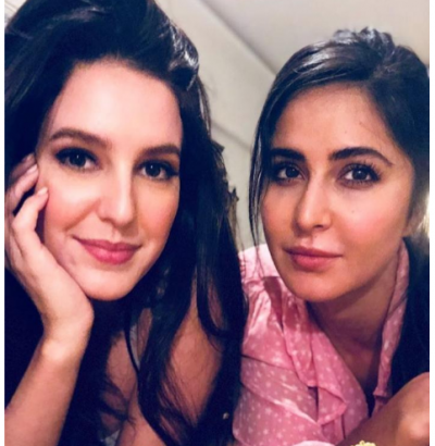 Katrina Kaif posted the prettiest selfie with sister Isabelle Kaif