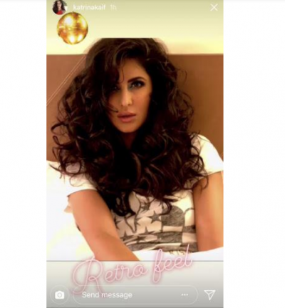 Watch the retro look of Katrina Kaif in her latest photo