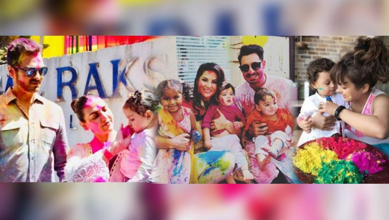 Bollywood and TV celeb kiddos decked up in rangeen gulaal with Pichkari …check pics inside