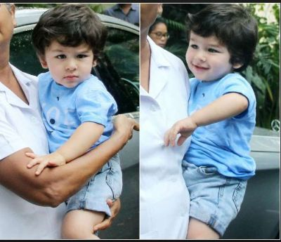 Bubbly and chubby Taimur Ali Khan Recent appearance outside his school…pics inside