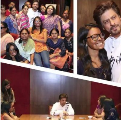 Shah Rukh Khan spends time with acid attack survivors