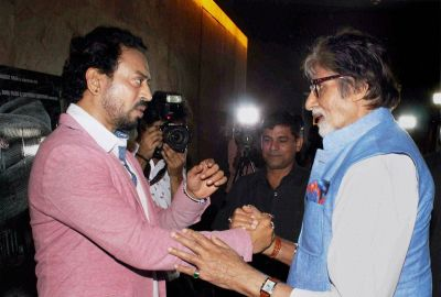 BLACKमेल: Irrfan Khan's film to have a special screening for Big B