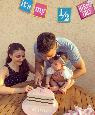Soha Ali Khan shared an adorable photo Inaaya Kemmu on her birthday