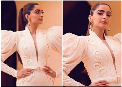 Bollywood actress Sonam Kapoor more stylish appearance in white gown…check pics inside