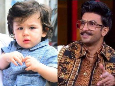 'Taimur Ali Khan is more stylish than you' Says Mom Kareena Kapoor to Ranveer Singh