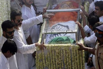 Sridevi accorded state funeral on CM's order :RTI reply