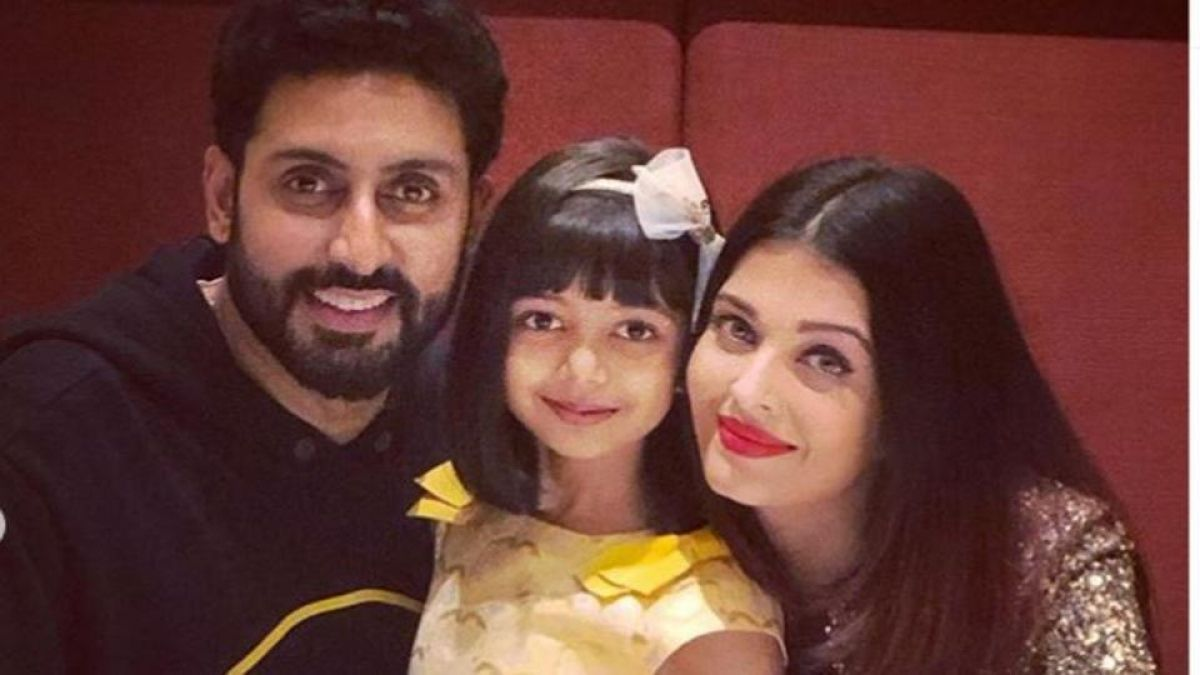 Aaradhya hugging Abhishek is the cutest thing you will see today on the internet