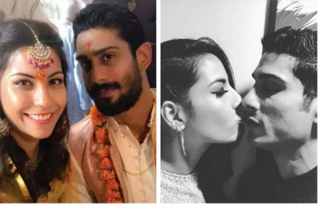 Prince Charming Prateik Babbar gives a pleasant surprise to Ladylove Sanya on her First birthday