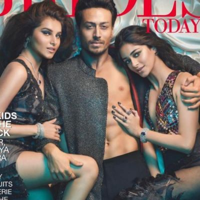 Tiger Shroff, Ananya Panday & Tara Sutaria features in the cover of a magazine