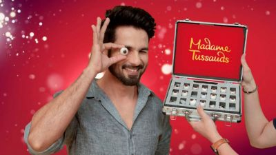 Shahid Kapoor to unveil his first wax statue at Madame Tussauds