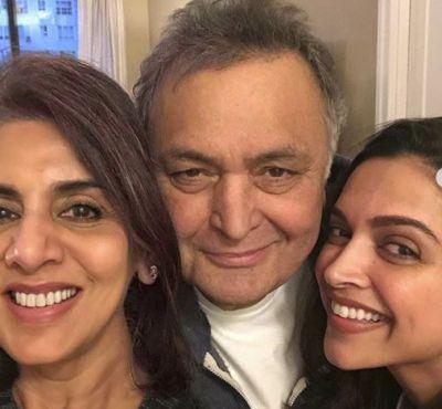 Deepika Padukone spends time with her Ex- Ranbir Kapoor's parents