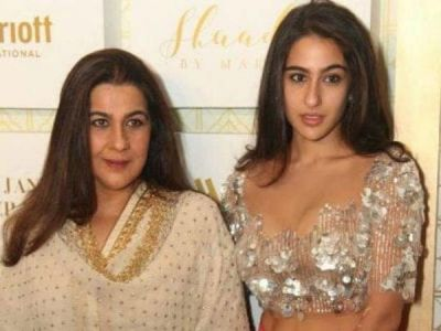 Mothers' Day special: Sara Ali Khan shares a beautiful throwback picture of mom Amrita Singh