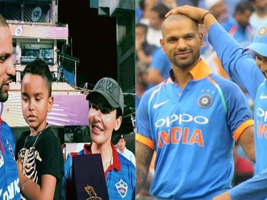 'Itna gussa to mera coach bhi nhi hota': Shikhar Dhawan on discussing cricket with wife Aesha