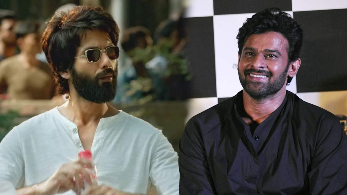 Prabhas is very impressed by Kabir Singh: Shahid Kapoor