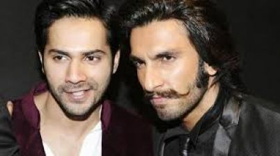 Ranveer Singh and Varun Dhawan spotted giving autographs to the fan family