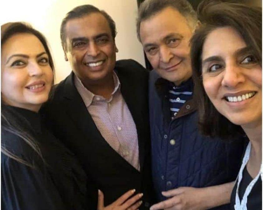 The Ambani's make a visit to the Kapoor's