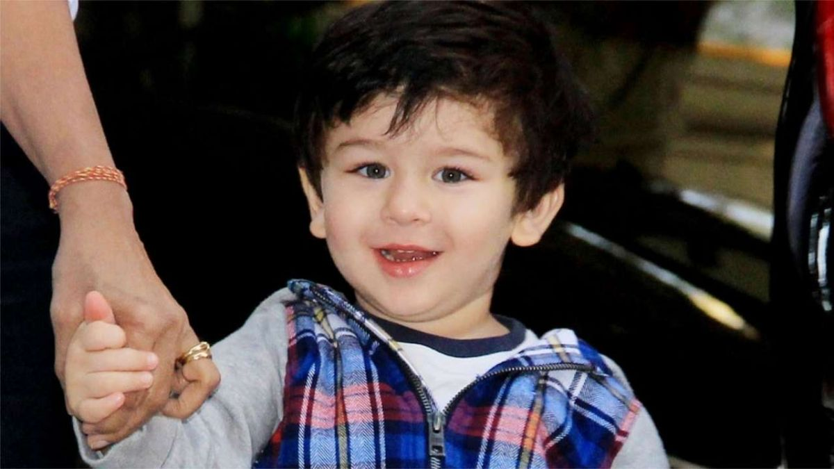 Taimur spends gala moments with Uncle Aadar and Armaan Jain