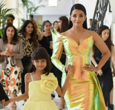 Aishwarya Rai Bachchan's daughter Aaradhya Bachchan gets troll for wearing makeup