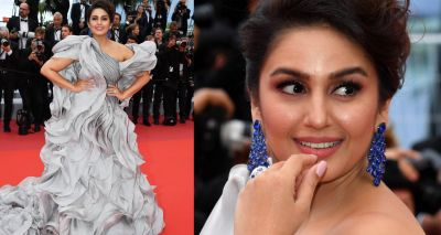 Huma Qureshi looks superb in her ruffled gown