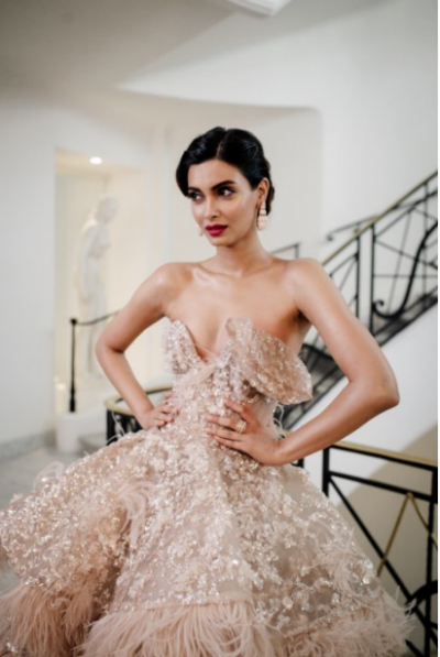 Diana Penty slays Cannes with her dazzling ball gown