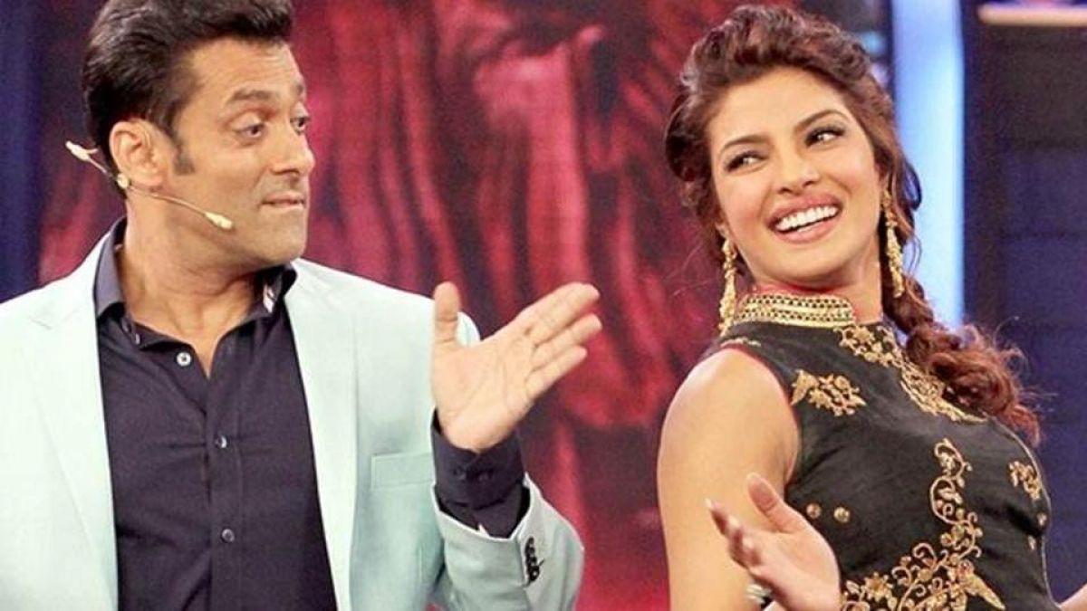 Many would leave anything or even their husband : Salman Khan take dig on Priyanka Chopra