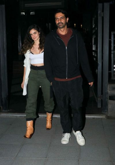 Baby shower of Arjun's Rampal's girlfriend Gabriella Demetriades