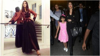 Aishwarya Rai returns to Mumbai after an Amazing Cannes festival
