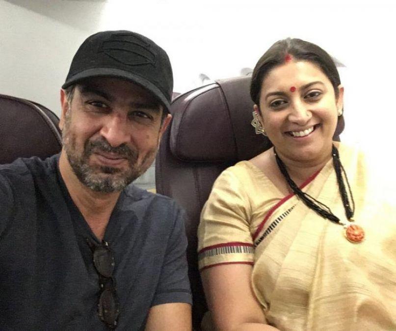 Smriti Irani wins the Amethi Constituency; Mihir Virani aka Ronit Roy shares a post to congratulate her