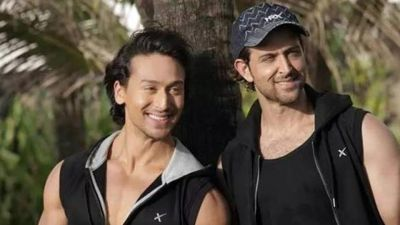 Hrithik Roshan is my hero and  I  hope I am not letting him down: Tiger Shroff