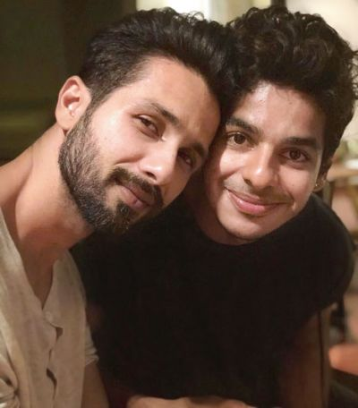 I hope one day I can make you as proud and happy as you make me Bhai: Ishaan Khattar