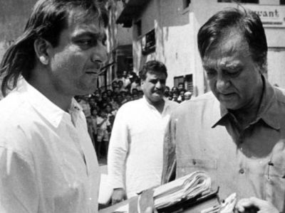 Sanjay Dutt pays tribute to Sunil Dutt on his death anniversary