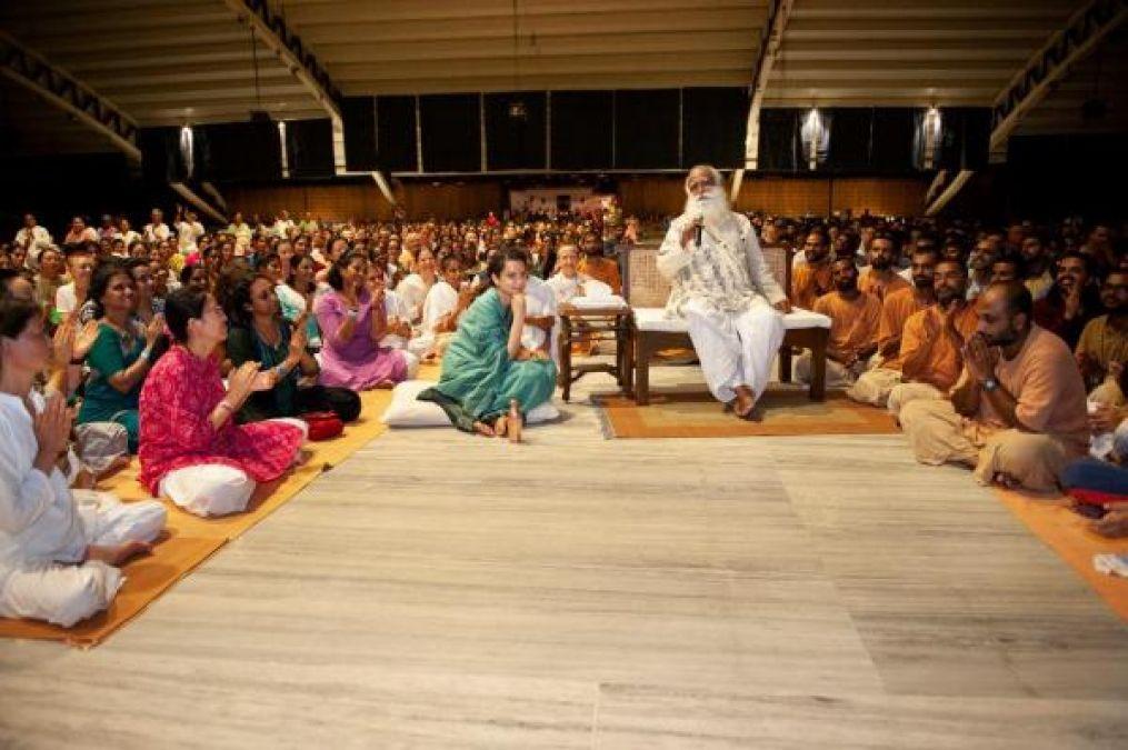 Kangana Ranaut screens her film Manikarnika at the Yoga Centre in Coimbatore