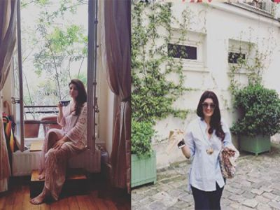 Twinkle Khanna is giving major trip goals with her recent Paris trip