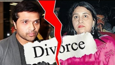 After getting Divorce from her wife, now Himesh is Living alone in his living room.