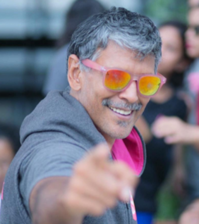 Supermodel and Actor Milind Soman Turn 52 today, but his age is just a number