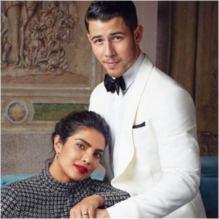 Priyanka and Nick's wedding photos to feature in an International magazine?
