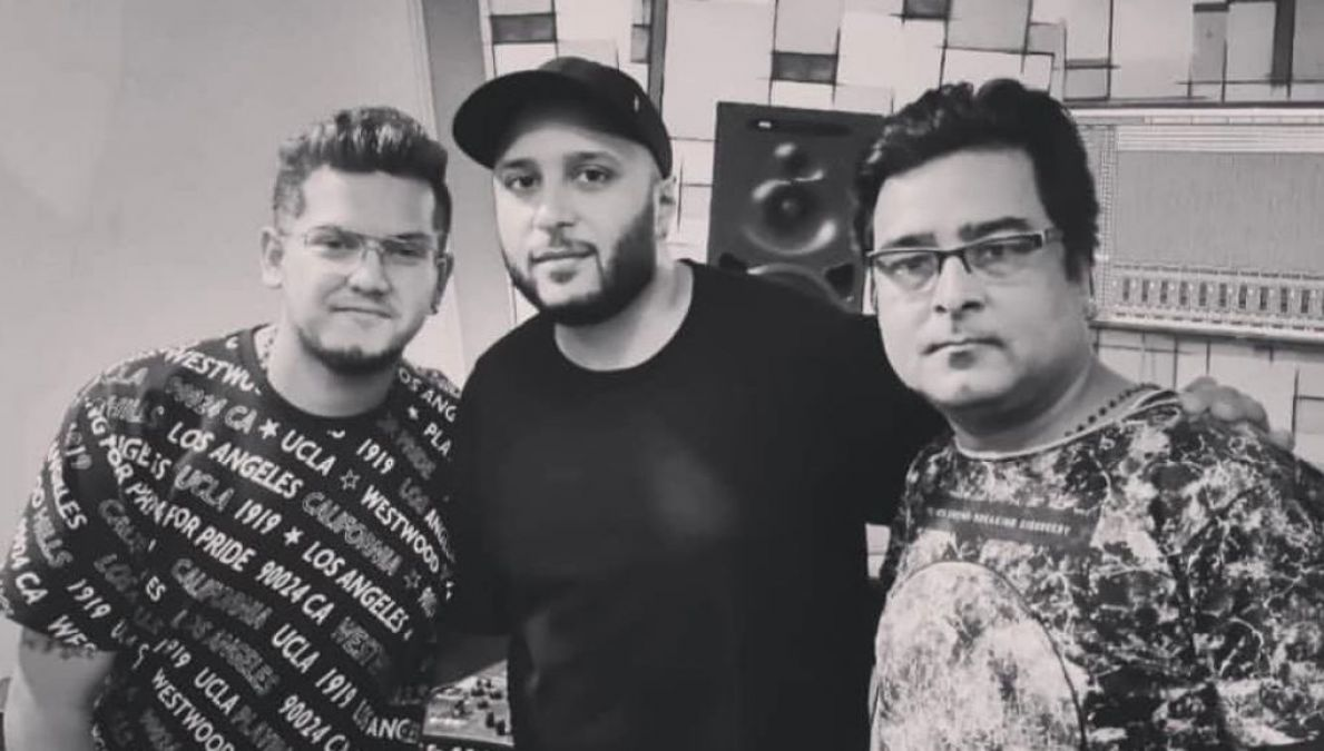 The dashing duo Manav Poddar & Kiran Kamath unite again with Rockstar Ash King for upcoming Music Video