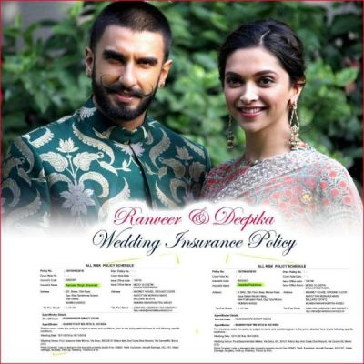 Guess What is the cost of DEEPVEER wedding insurance