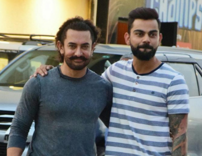 Virat Kohli providing supports to the youth sportsperson of the nation: Aamir Khan